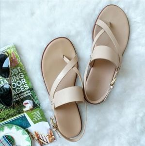 Cole Haan ▪ Anica Thong Sandal In Nude